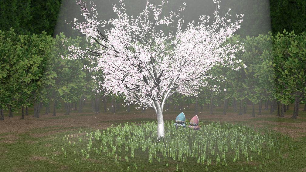 支援素材 桜