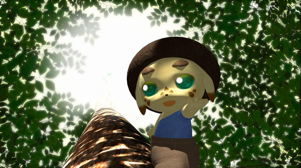 3DCGアニメーション 「もりのなかで 第1話 一日のはじまり」