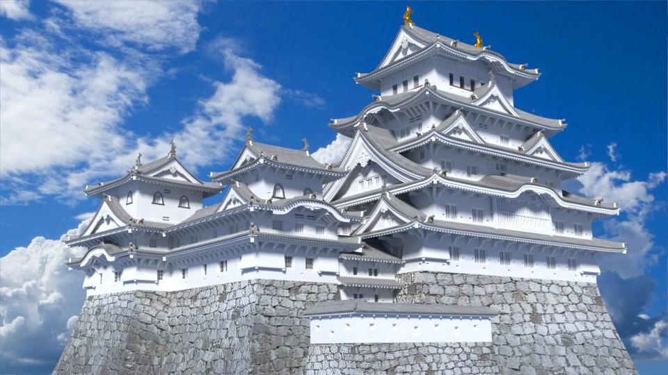 姫路城 完成形