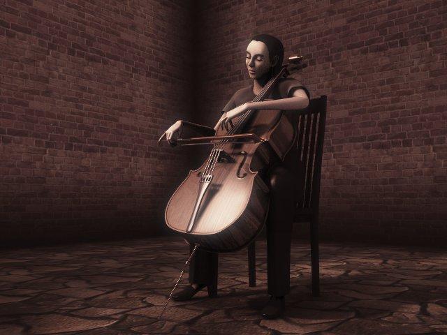 A cellist 2