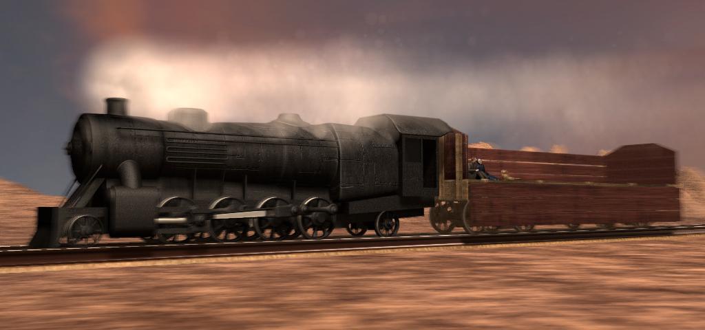 架空の国の架空の機関車