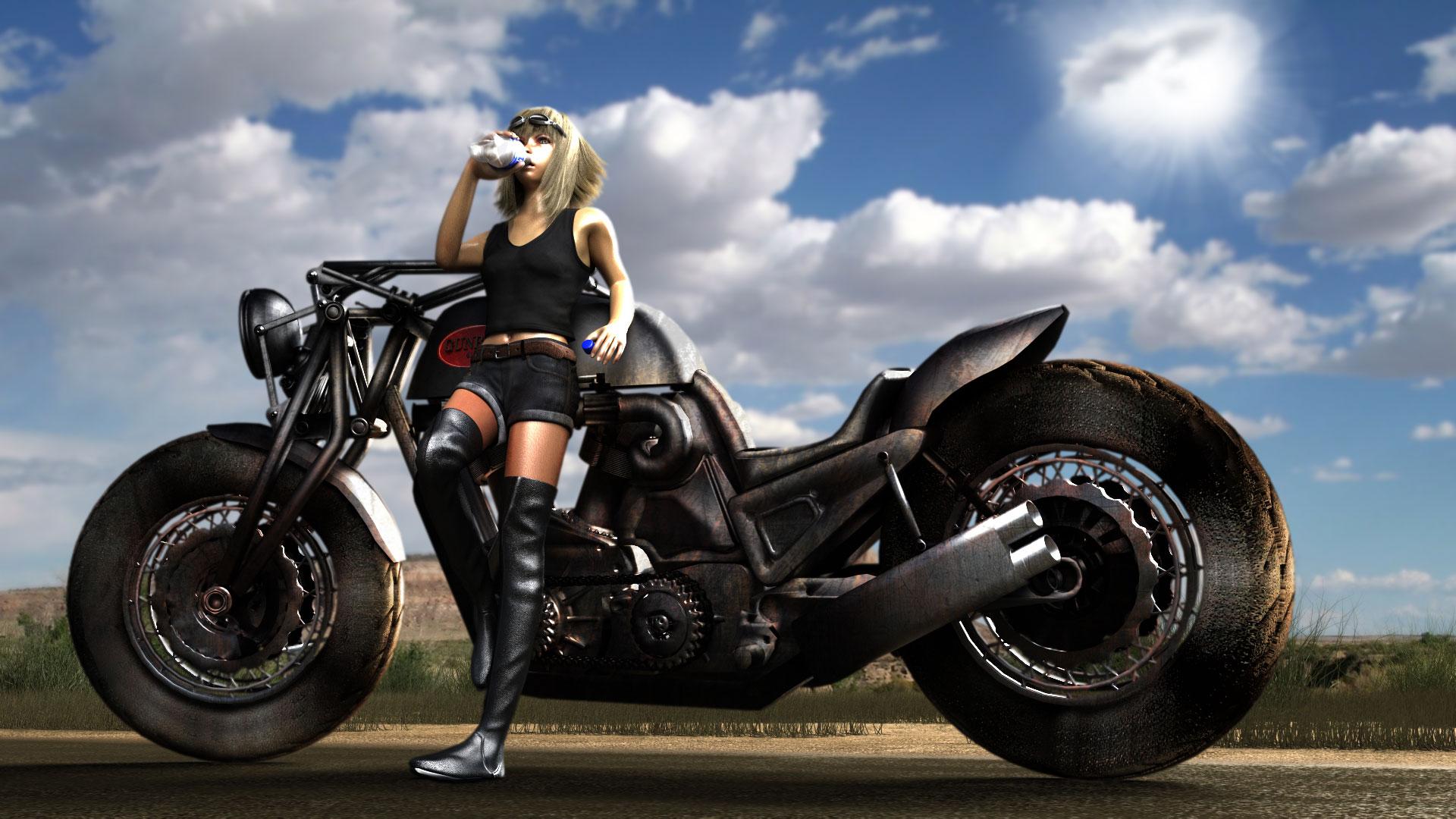 バイクツーリング