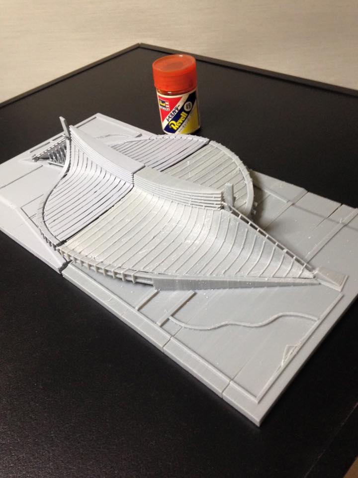 代々木体育館、3Dプリント