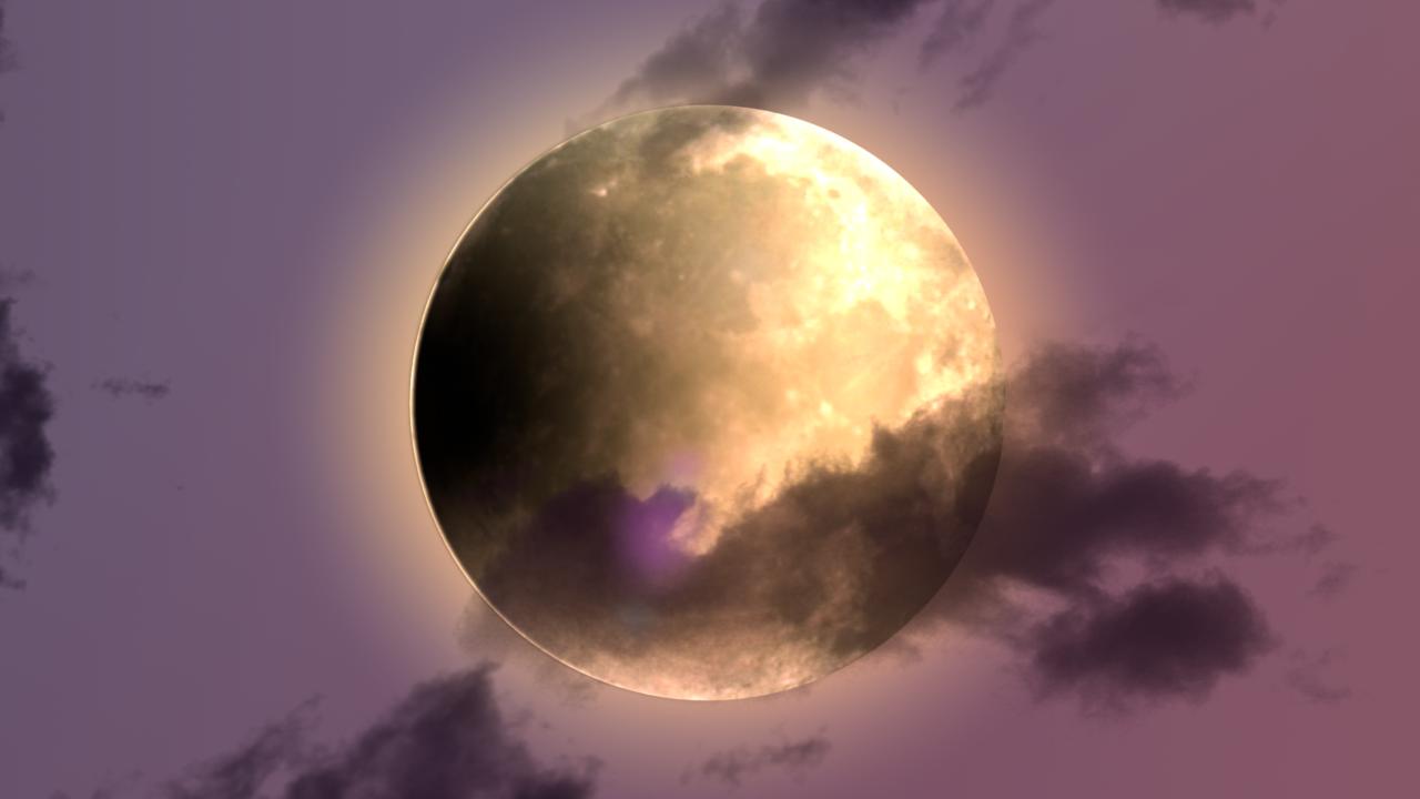 月 アニメーション内の1枚