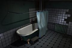 今までお風呂がでてくるゲームを見たことないのは、カーテンがネックだったからかも