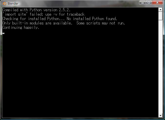 Pythonシステムフルセット見つからねー。いくつかスクリプト動かんけどええのか?(超訳)