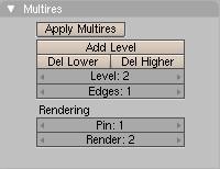 Multires パネル