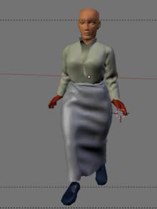 尼さんモデル