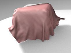 Cube 上の布