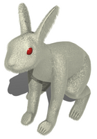 ウサギ(処女作)です